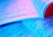 演奏乐器0200,演奏乐器,静物,翻开的乐谱