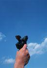 运动用品0188,运动用品,静物,手枪 武器 蓝天