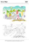 城乡景观0031,城乡景观,综合,道路 马路 城市