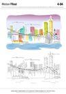 城乡景观0034,城乡景观,综合,建设 高楼 都市