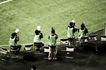 足球运动场0085,足球运动场,综合,摄像师们 绿色马甲