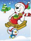 可爱小白熊