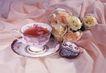 茶与咖啡0032,茶与咖啡,水果食品,花朵 玫瑰 花茶