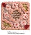 蛋糕馅饼0018,蛋糕馅饼,水果食品,精致奶油花