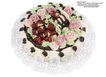 蛋糕馅饼0032,蛋糕馅饼,水果食品,花朵 生日糕点 水 果