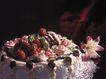 蛋糕馅饼0035,蛋糕馅饼,水果食品,甜食 圆形 花朵