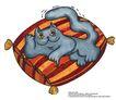 食品包装示图0065,食品包装示图,水果食品,猫咪