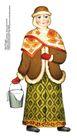 食品包装示图0093,食品包装示图,水果食品,衣饰 冬装 戴着帽子