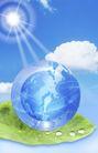 人物风景0132,人物风景,韩国设计元素,太阳 阳光 绿叶
