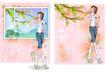 健美0024,健美,韩国设计元素,长腿人物