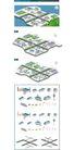 卡通建筑-地图0008,卡通建筑-地图,韩国设计元素,规划 小区 房屋