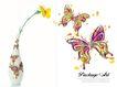 家居生活0002,家居生活,韩国设计元素,花瓶 花朵 蝴蝶