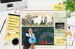 桌面书签0084,桌面书签,韩国设计元素,人物特写 书签 女孩