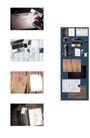 桌面书签0096,桌面书签,韩国设计元素,小方块形 花纹 整洁