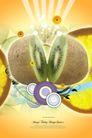 水果0002,水果,韩国设计元素,