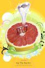 水果0014,水果,韩国设计元素,叉子 果肉