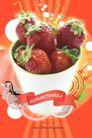 水果0016,水果,韩国设计元素,新鲜草莓