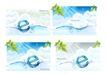 水纹0007,水纹,韩国设计元素,阳光 经叶 字母