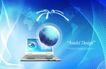 电子科技0108,电子科技,韩国设计元素,蓝色星球