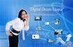电子科技0113,电子科技,韩国设计元素,女性 联接 眼镜
