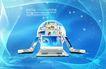 电子科技0131,电子科技,韩国设计元素,计算机 地球 蔚蓝