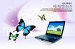 电子科技0137,电子科技,韩国设计元素,蝴蝶 笔记本 美丽