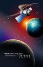 电子科技0138,电子科技,韩国设计元素,卫星 宇宙 旋转
