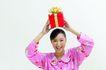 早安少女0038,早安少女,综合,粉色睡衣 头顶的礼盒