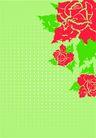 花卉0004,花卉,底纹背景,