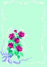 花卉0012,花卉,底纹背景,