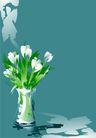 花卉0014,花卉,底纹背景,