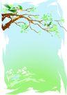 风景0062,风景,底纹背景,绿色 绿色