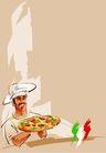 食物0023,食物,底纹背景,