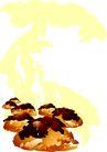 食物0025,食物,底纹背景,