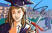 潮流印象0093,潮流印象,生活方式,学士服 毕业生 学校