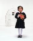 童趣0174,童趣,儿童,黑裙 幼小