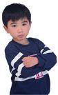 儿戏童年0040,儿戏童年,儿童,双手抱胸 自信孩子