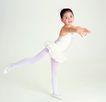 儿戏童年0056,儿戏童年,儿童,童趣 芭蕾舞 抬起腿
