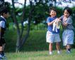 儿童宠物0060,儿童宠物,儿童,儿童宠物 公园里 和宠物玩耍