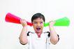 儿童广告0048,儿童广告,儿童,喇叭