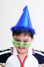 儿童广告0052,儿童广告,儿童,节日 尖帽子 眼镜