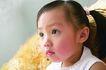 儿童生活0037,儿童生活,儿童,小辫子女孩 儿童憧憬 平视前方