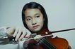 儿童生活0042,儿童生活,儿童,拉小提琴