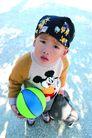 儿童生活0079,儿童生活,儿童,抱着球