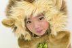 儿童造型0064,儿童造型,儿童,扮成一只猫