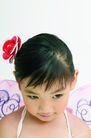 儿童造型0080,儿童造型,儿童,头戴红花