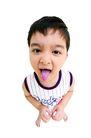 儿童造型特写0066,儿童造型特写,儿童,吐舌头