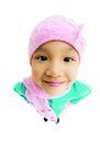 儿童造型特写0076,儿童造型特写,儿童,粉色帽子