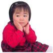 天真儿童0067,天真儿童,儿童,红衣小女孩 刘海