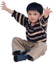 天真儿童0069,天真儿童,儿童,条纹衣
